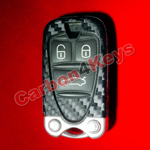 carbon4key alfa romeo 156 159 brera q4 remote key fob decoration ebay. Black Bedroom Furniture Sets. Home Design Ideas