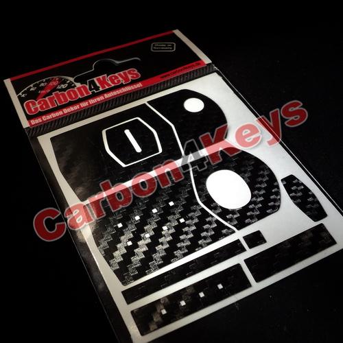 carbon4keys mazda 2 3 5 6 rx8 mx5 nc schl ssel dekor ebay. Black Bedroom Furniture Sets. Home Design Ideas