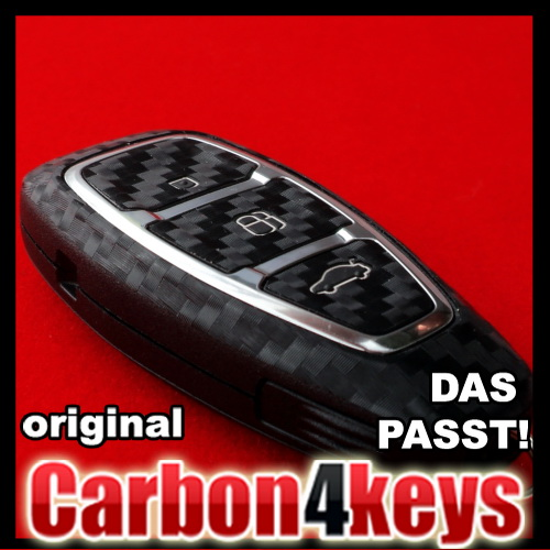 carbon4key f r ford kuga mondeo mk4 focus mk3 key less go. Black Bedroom Furniture Sets. Home Design Ideas