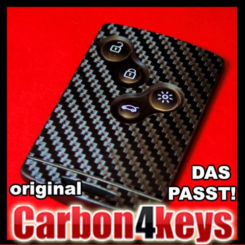 carbon4keys renault laguna 4 megane koleos sport rs ebay. Black Bedroom Furniture Sets. Home Design Ideas